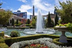 Caesars Palaceträdgårdar, Las Vegas Royaltyfri Foto