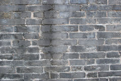 The caesious brick wall Royalty Free Stock Images