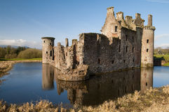 Caeverlock Castle Royalty Free Stock Photos