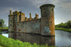 Caeverlock Castle Royalty Free Stock Photography