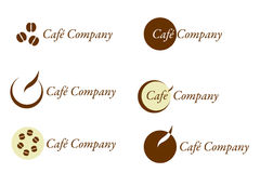 Café Company - Logo and Brand for Coffee Stock Photos