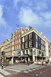 Café Karpershoek, den äldsta puben i Amsterdam. Arkivbilder