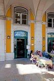 Café Martinho da Arcada Lisbon Royalty Free Stock Images