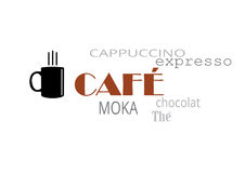 Café 免版税库存图片