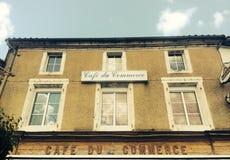 Café du Коммерция стоковое фото rf