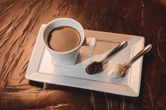 Café-Espresso Lizenzfreie Stockfotos
