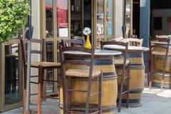 Café Frankrike Arkivbild