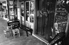 Café在Katoomba 免版税库存图片