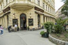Café Sperl in Wien Lizenzfreie Stockfotografie