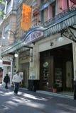Café Tortoni Foto de Stock Royalty Free