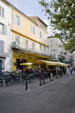 Cafè Van Gogh stockfotos