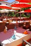 Café w Marbella Fotografia Royalty Free