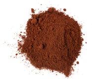 Cafè moulu et grain Photos stock