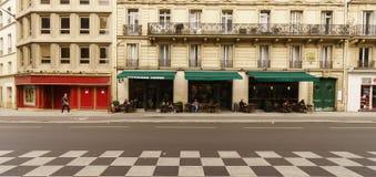Caféäußeres stockfotografie
