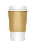 Café à emporter Photographie stock