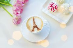 Café à Paris Image stock