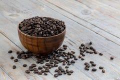 Café à terra/café do feijão imagem de stock royalty free
