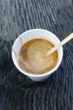 Café à Vancouver Photos stock