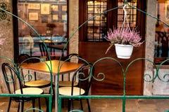 Café à Venise Image libre de droits