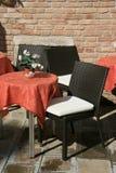 Café à Venise Photos libres de droits