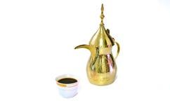 Café árabe Foto de archivo libre de regalías