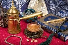 Café árabe Imágenes de archivo libres de regalías
