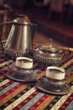 Café árabe Fotografía de archivo