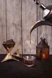 Café árabe Fotografía de archivo libre de regalías