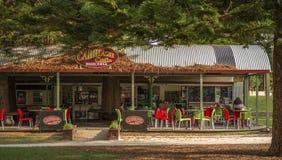 Café 'in West Australian-Stadt von Fremantle lizenzfreie stockfotografie