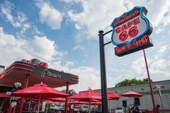 Café 66 Stockfoto
