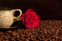 Café 2 del amor Imágenes de archivo libres de regalías