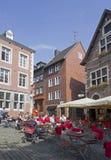 Café in Aachen, Deutschland Lizenzfreie Stockbilder