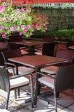 Café acolhedor Fotos de Stock Royalty Free