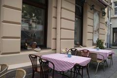 Café acolhedor Foto de Stock
