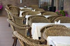 Café al aire libre Foto de archivo