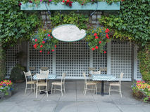 Café al aire libre Fotografía de archivo libre de regalías