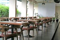 Café al aire libre Imágenes de archivo libres de regalías