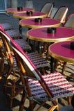 Café al aire libre, París Foto de archivo libre de regalías