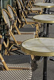 Café al aire libre París Imágenes de archivo libres de regalías