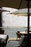 Café al aire libre tropical Foto de archivo libre de regalías