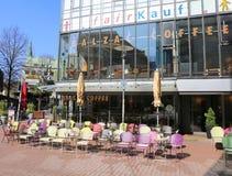 Café alemán popular del Balzac de la cadena de la cafetería Fotos de archivo
