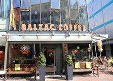 Café alemán popular del Balzac de la cadena de la cafetería Imágenes de archivo libres de regalías