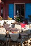 Café alpino Fotos de archivo
