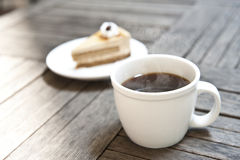 Café-Americano Photo libre de droits