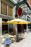 Café & restaurante ao ar livre. Imagem de Stock Royalty Free