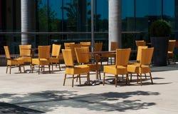 Café ao ar livre Imagens de Stock Royalty Free