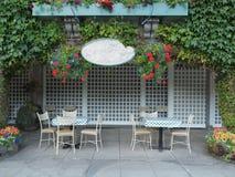 Café ao ar livre Fotografia de Stock Royalty Free