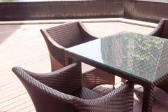 Café ao ar livre Fotos de Stock