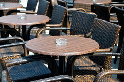 Café ao ar livre Foto de Stock