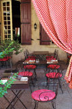 Café ao ar livre rural Imagens de Stock